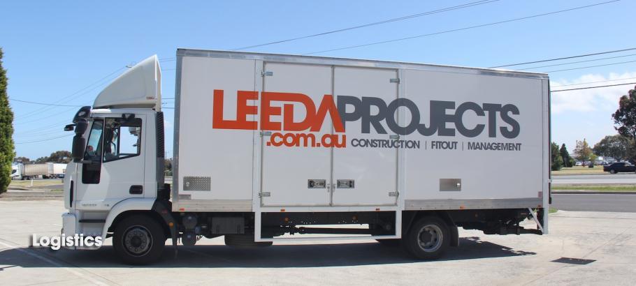 Leeda Projects truck